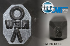 "3/8"" Custom Logo Stamp"