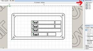 Imark tag layout