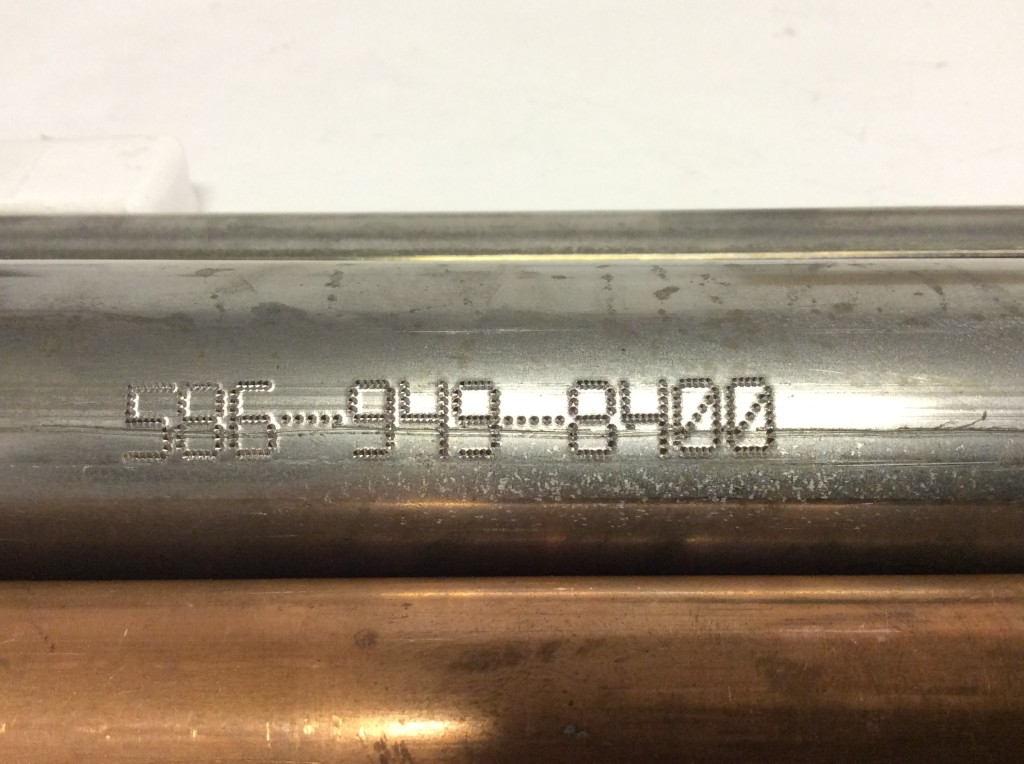 IM-M75-FD on steel pipe
