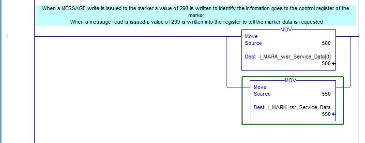 I-Mark registers for 2X software