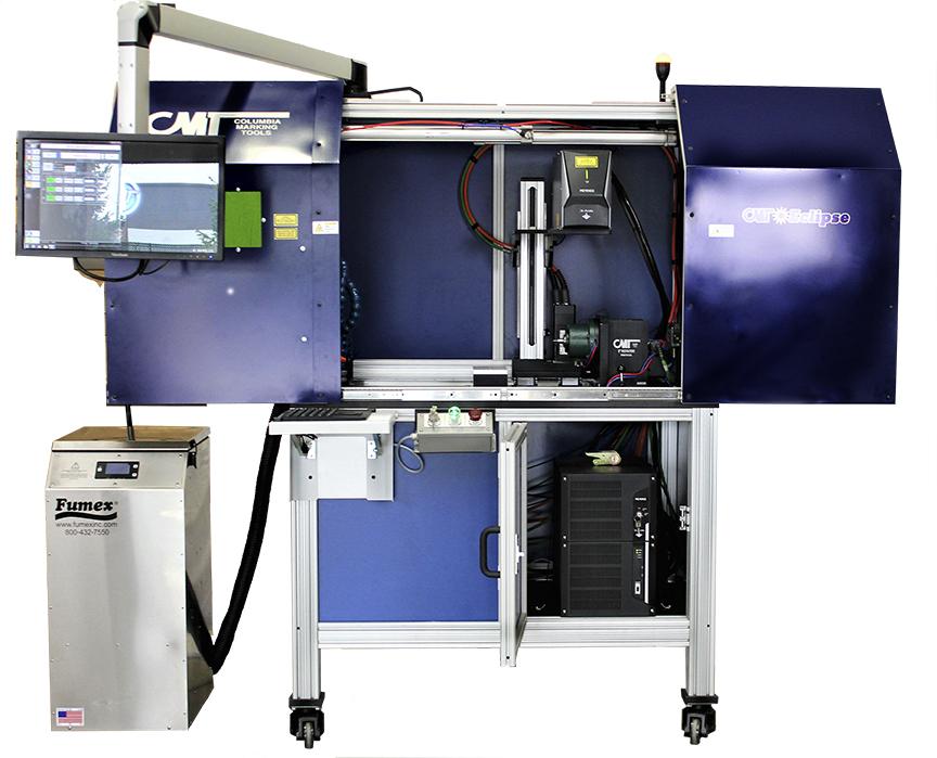 CMT Eclipse Laser Marking Station - Large Bed